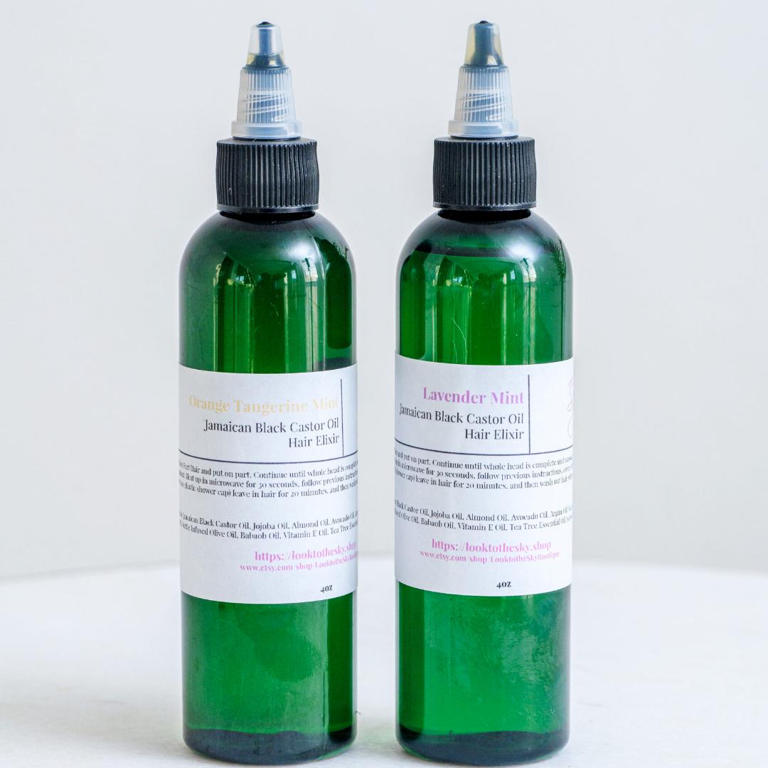 Hair Elixir with Jamaican Black Castor Oil (JBCO)